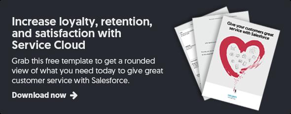 Salesforce Service Cloud planning template