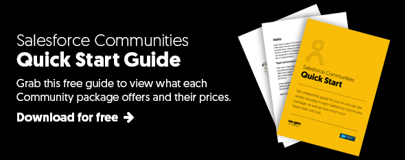 Salesforce Communities quick start guide