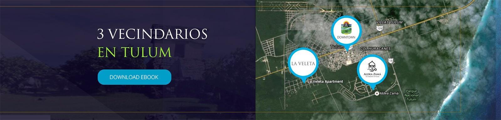 3 vecindarios de Tulum