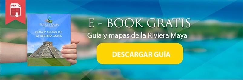guía y mapas de la riviera maya