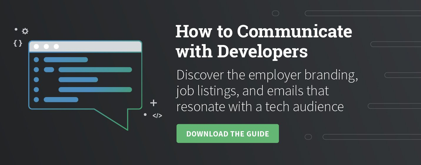 How to Communicate with Developers