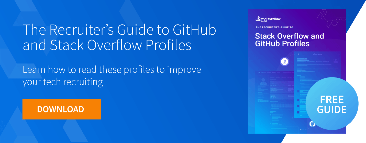 github and stack overflow profiles