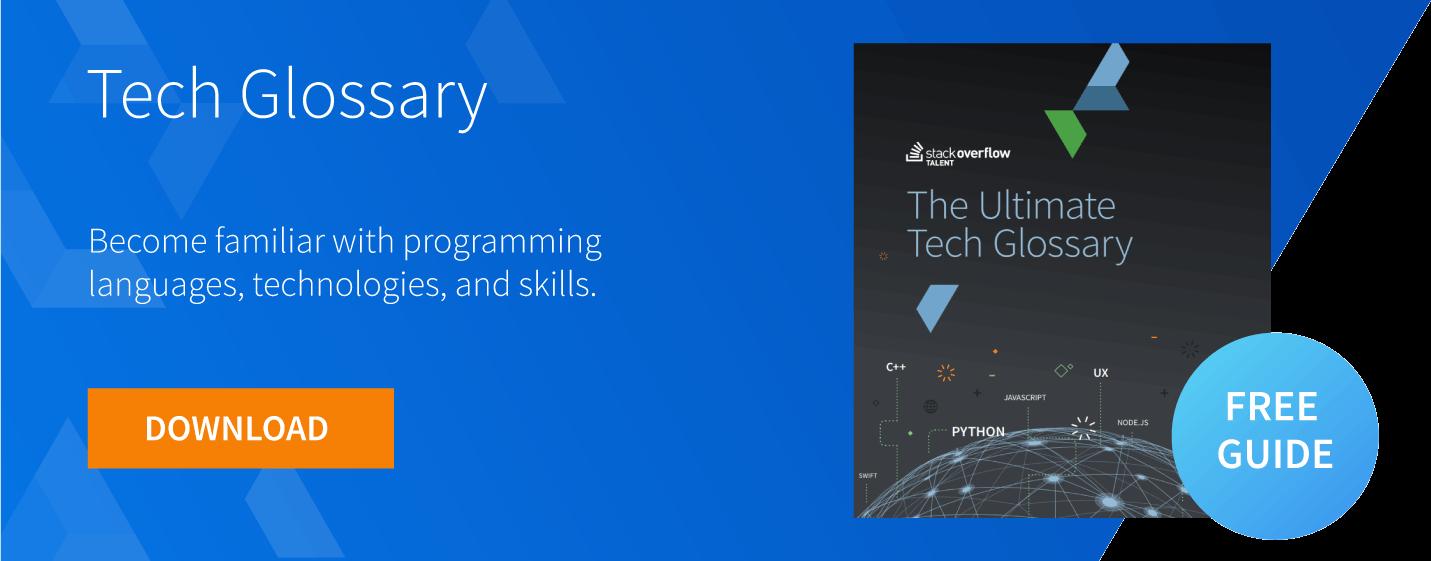 tech glossary