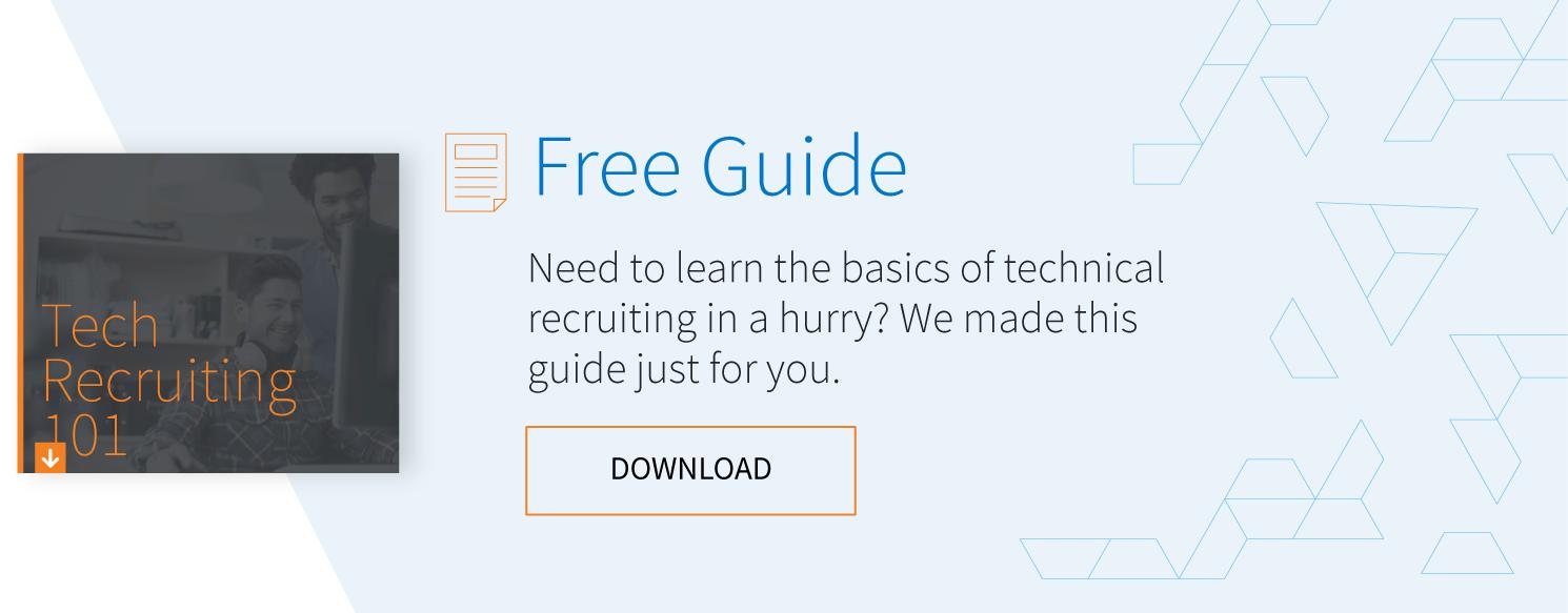 tech recruiting 101
