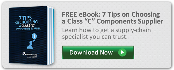 "Free eBook: 7 tips on Choosing a Class ""C"" Components Supplier"