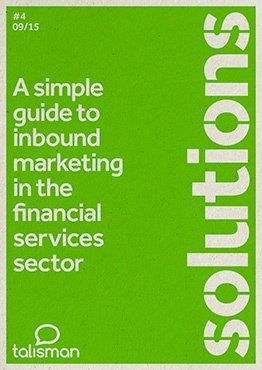A simple guide to inbound marketing in the financial sector