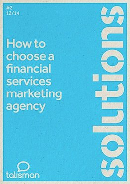 How to choose a financial services marketing agency guide