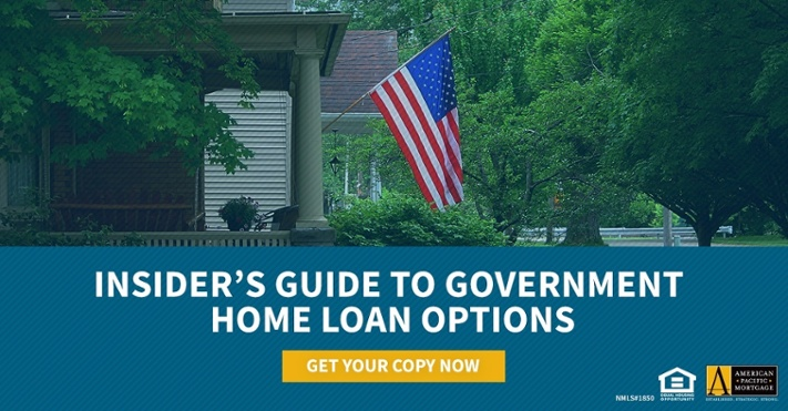 Receive a Copy of Insider's Guide to Government Home Loan Options