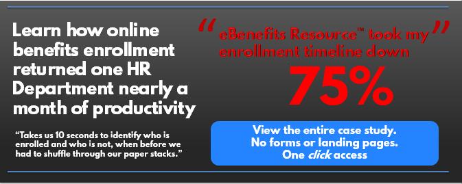 online benefits enrollment business case