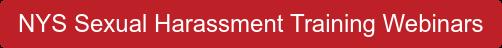 NYS Sexual Harassment Training Webinars