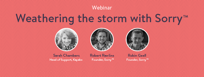 Webinar: Communicating a crisis with Sorry™
