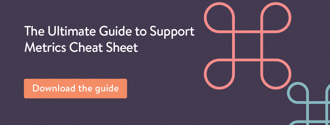 the ultimate guide to customer support metrics cheat sheet