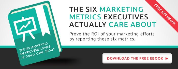 [Free Ebook] The Six Marketing Metrics Executives Actually Care About