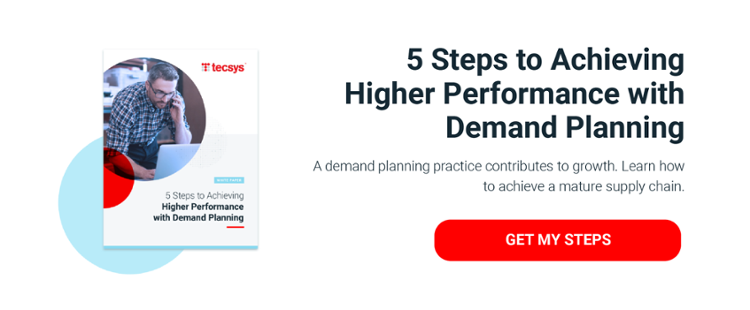 5 Steps to Achieving  Higher Performance  with Demand Planning