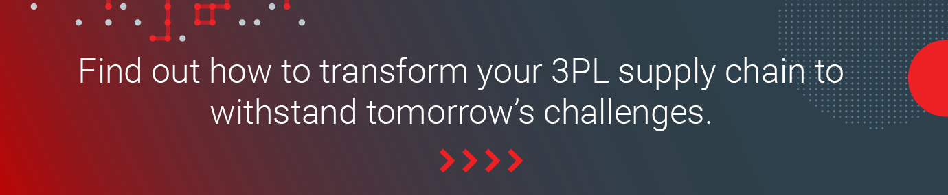 Find out how to transform your 3PL supply chain to withstand tomorrow's challenges.