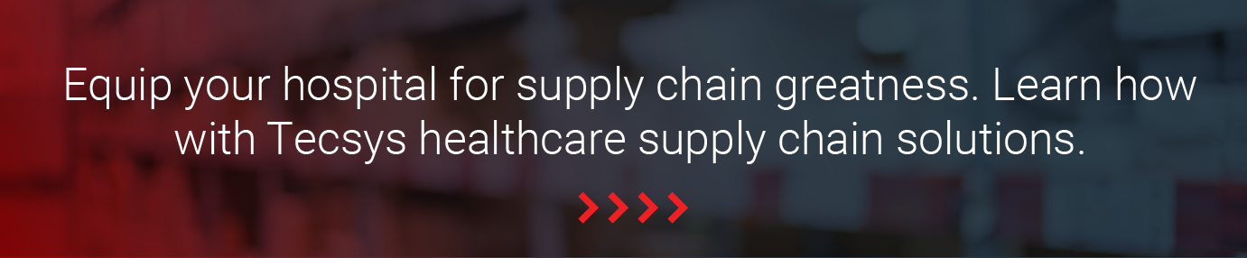 Equip your hospital for supply chain greatness. Learn how with Tecsys healthcare supply chain solutions.