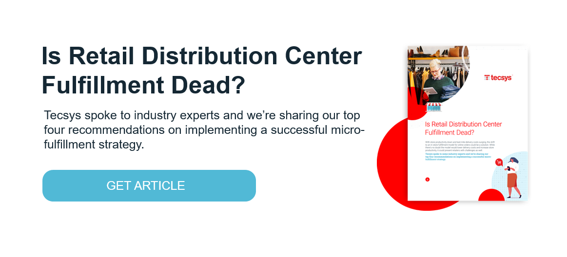 s Retail Distribution Center Fulfillment Dead? (Article Download)