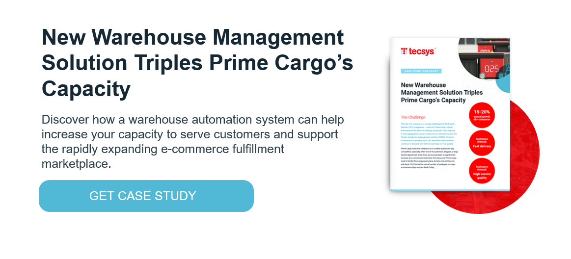 New Warehouse Management Solution Triples Prime Cargo's Capacity