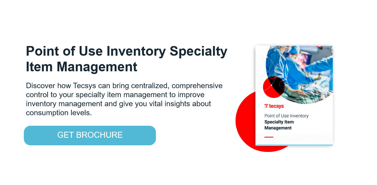 Point of Use Inventory Specialty Item Management Brochure
