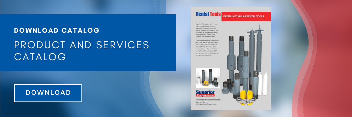 Catalog - Rental Tools - Oil and Gas - Superior Performance