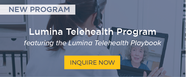 Lumina Telehealth Program - featuring the Lumina Telehealth Playbook