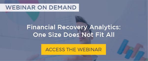 Financial Recovery Analytics Webinar