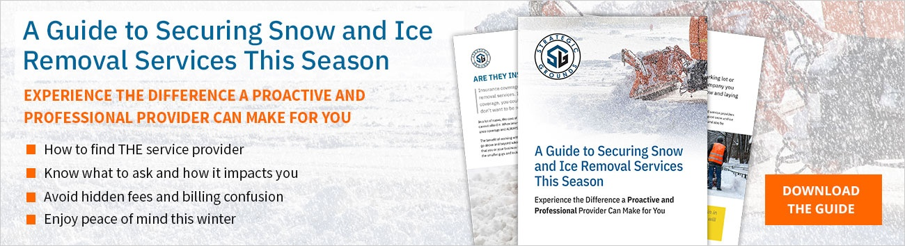 Download The Guide to Securing Snow and Ice Removal Services This Season