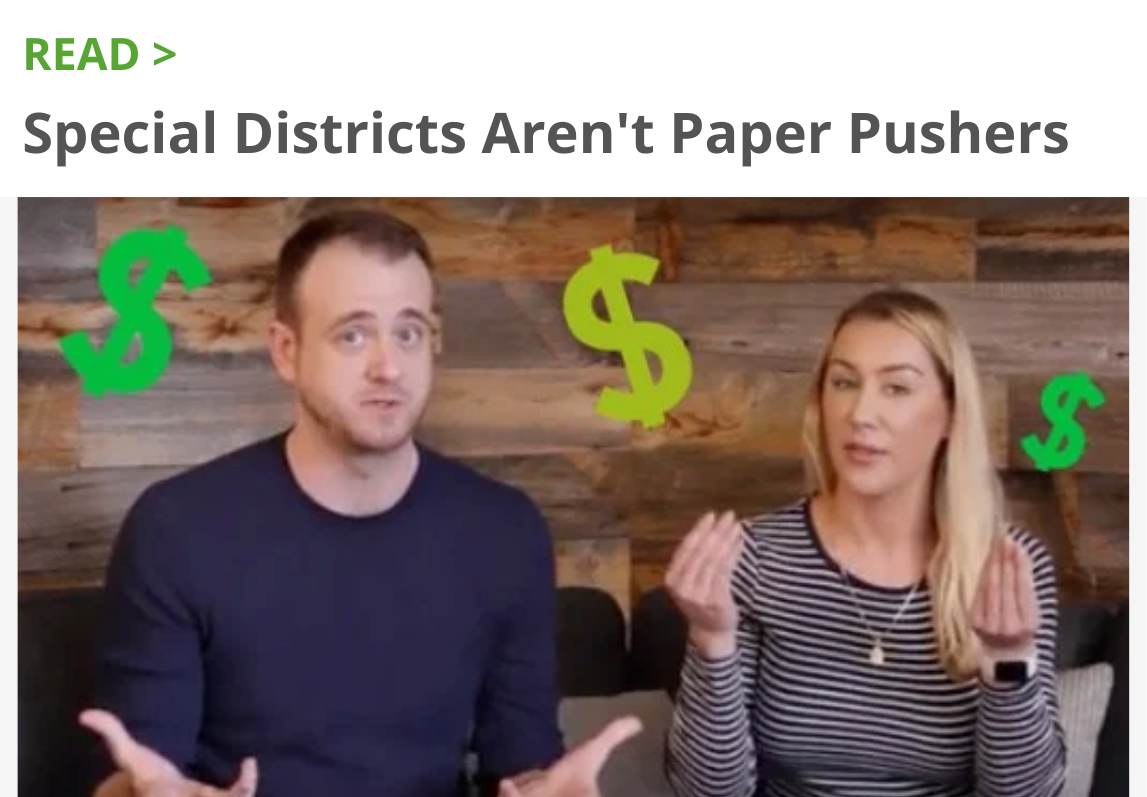 Read: Special Districts Aren't Paper Pushers