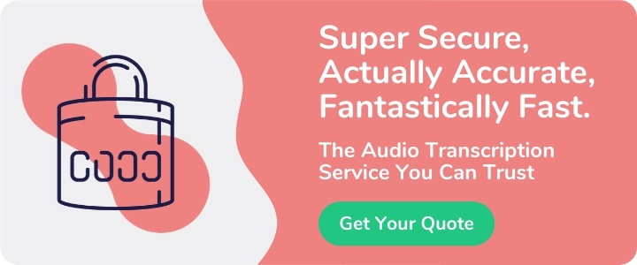 Audio Transcription CTA