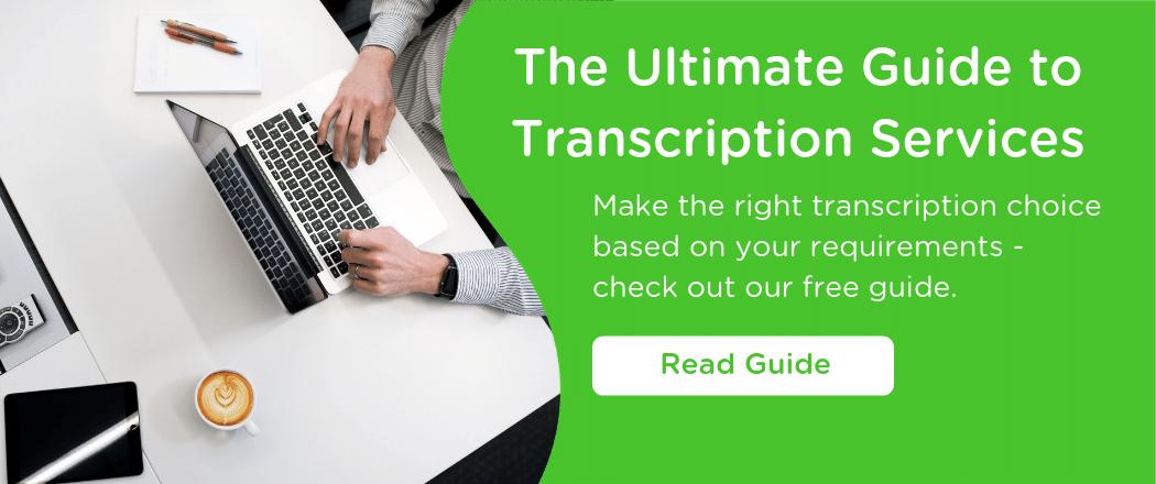 transcription services guide