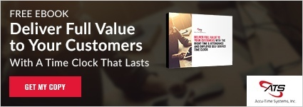 Deliver full value to your customers with a time clock that lasts