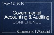 Governmental Accounting & Auditing Conference - May 12, 2016