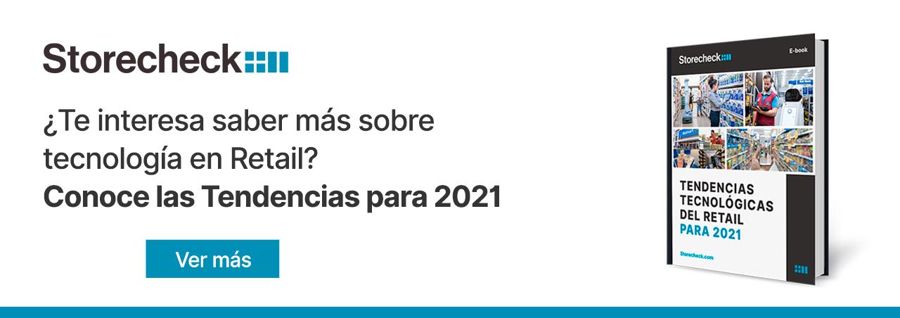 Tendencias tecnologia retail 2021