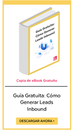 Link a Landing Guía Gratuita, Cómo Generar Leads Inbound