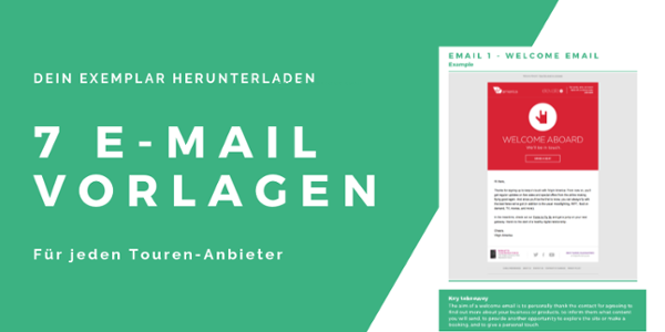 E-Mail Vorlagen für Touren-Anbieter