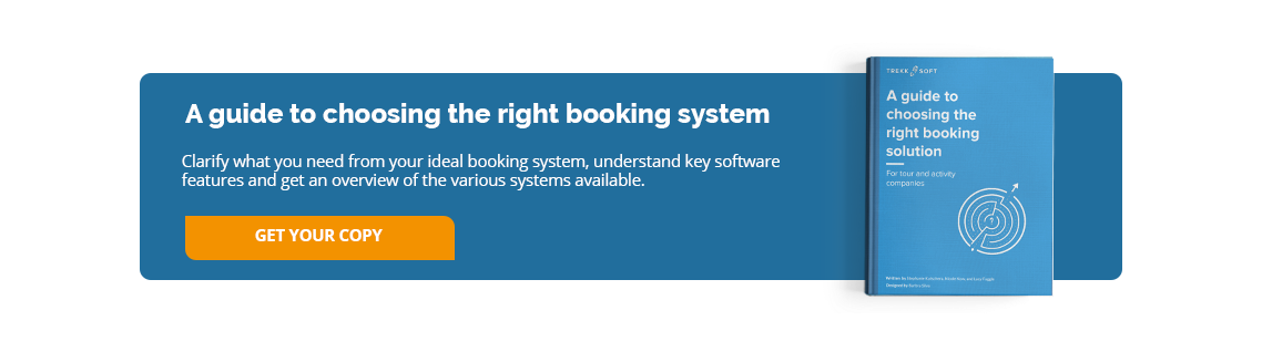 A guide to choosing the right booking system for tour or activity companies