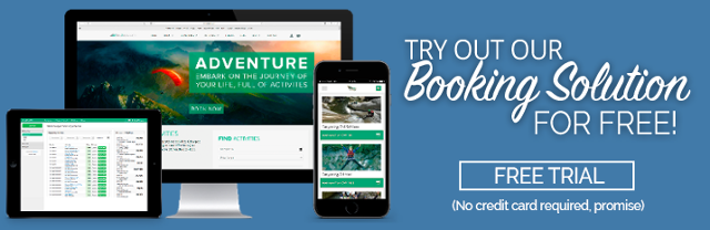 Try out our booking solution for free, no credit card required