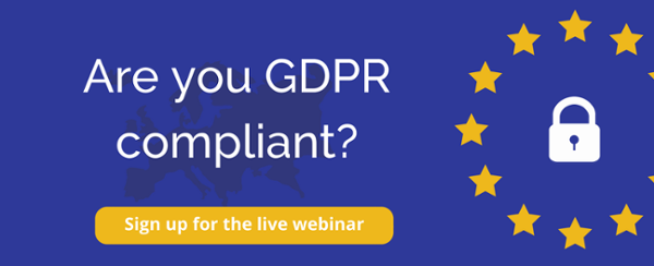 Join the workshop to learn more about GDPR