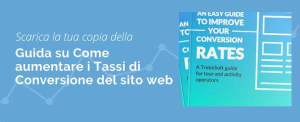 Guida du come aumentare i tassi di conversioni del sito web