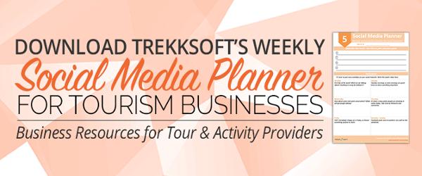 Weekly social media planner