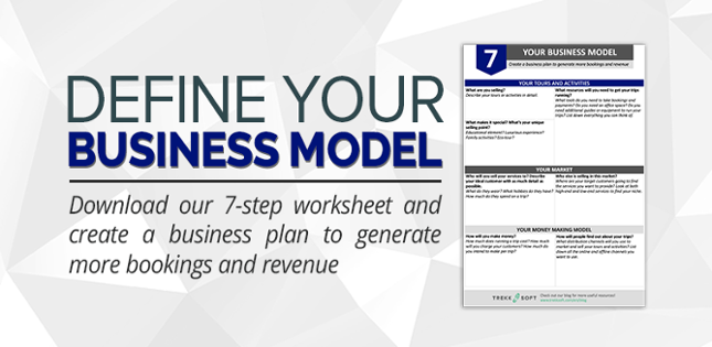 Define your business model with this free worksheet