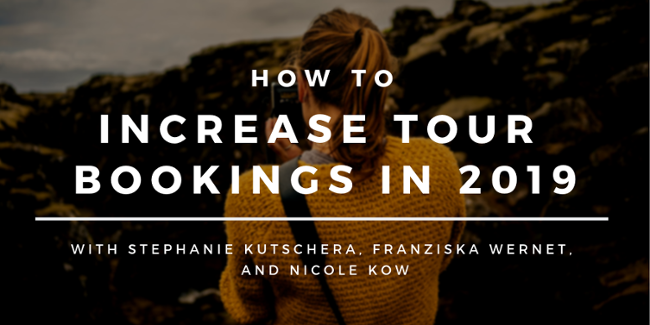 How to increase tour bookings in 2019