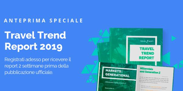 Anteprima Speciale Travel Trend Report 2019