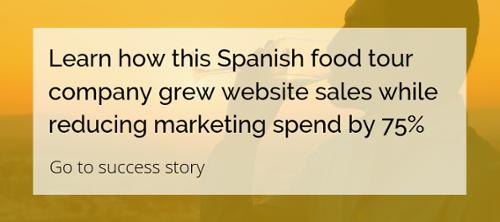 Learn how Sea Saffron grew website sales