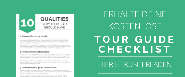 Tour Guide Checkliste