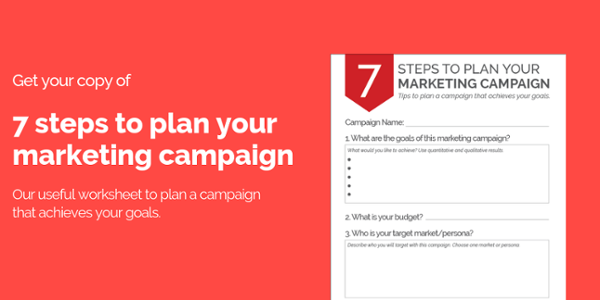 Plan your next marketing campaign