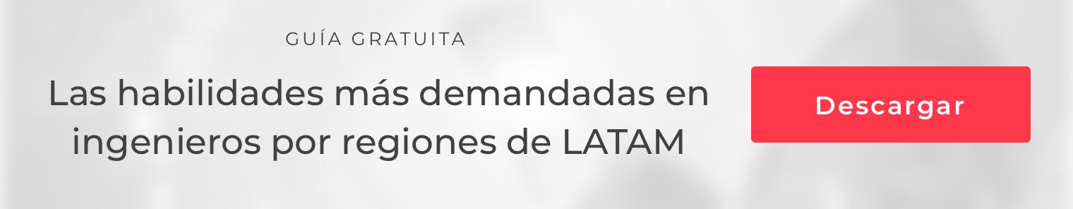 Descarga la guía con las habilidades más  demandadas por países/regiones de LATAM