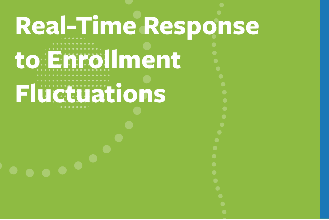 Real-Time Response to Enrollment Fluctuations