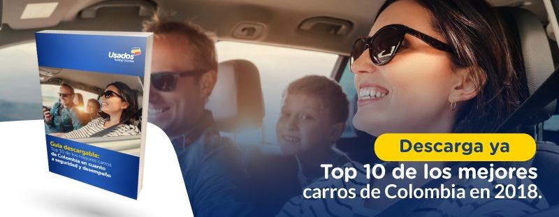 top 10 de los mejores carros de colombia