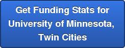 Get Funding Stats for University of Minnesota,  Twin Cities